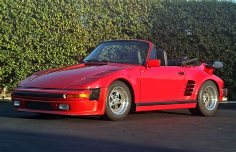 old porsche 911 wide body wide body 911 convertible with 3 2 motor for sale