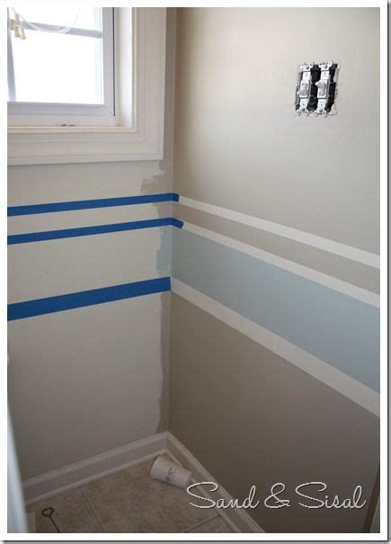 painting stripes in bathroom painting stripes made easy
