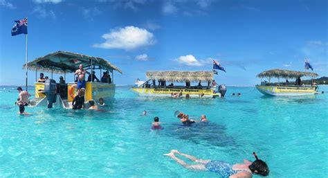 rarotonga cruises captain tama s lagoon cruizes image - Boat Cruise Rarotonga