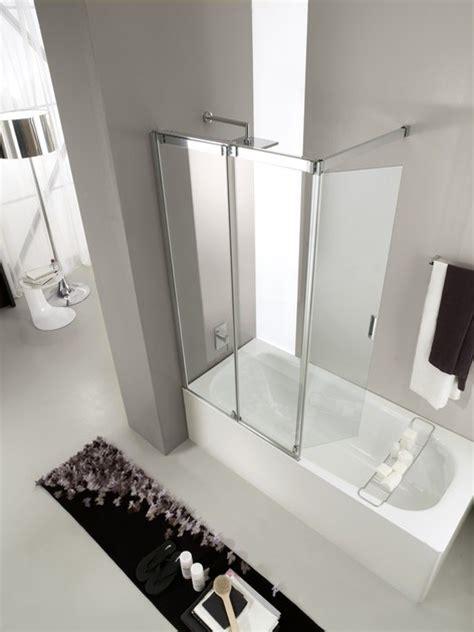 vasca in vetro parete per vasca in vetro temperato slide vr vismaravetro