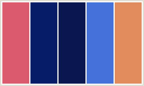 royal color scheme colorcombo298 with hex colors db5a6e 071d69 0a1650
