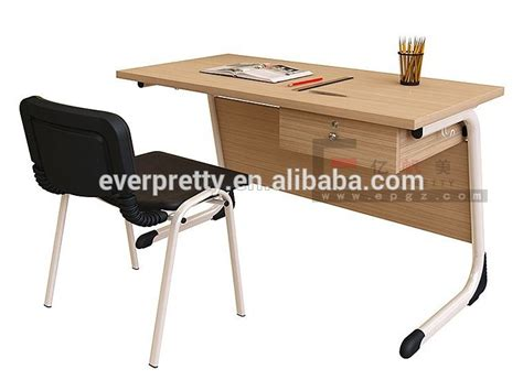 design meja guru modern melamine table top japanese wooden teacher s desk