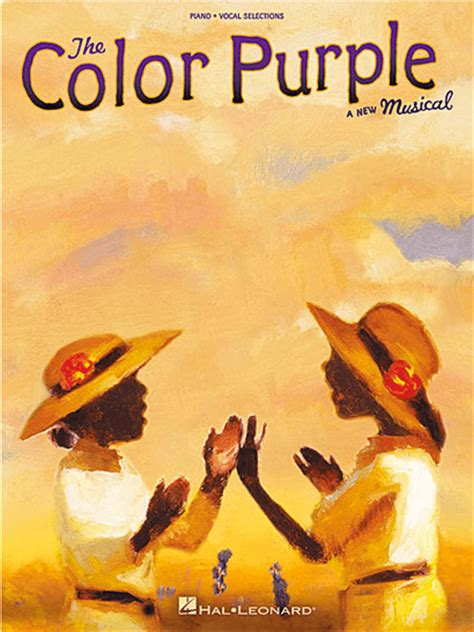 the color purple book free the color purple piano vocal selections songbook the