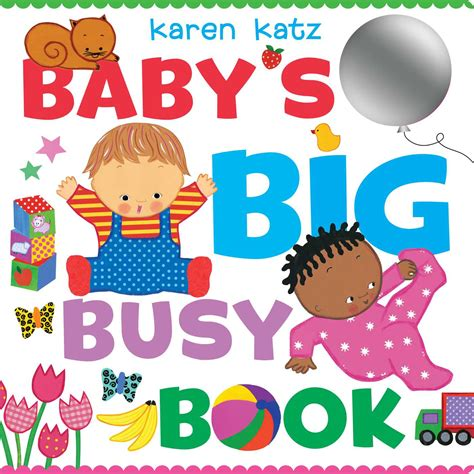 Busy Book 8 8 Halaman baby s big busy book book by katz official