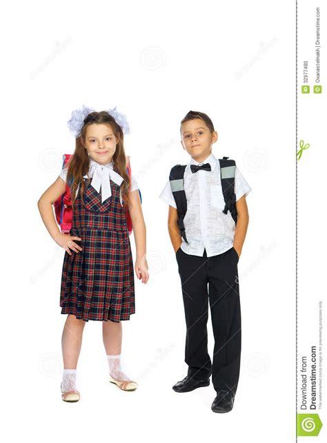 School Children With School Bags Stock Photo Image 32977480 Images Of Children At School