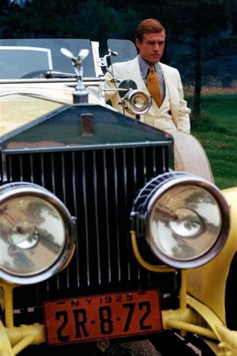 yellow rolls royce great gatsby robert redford as gatsby and the infamous yellow rolls
