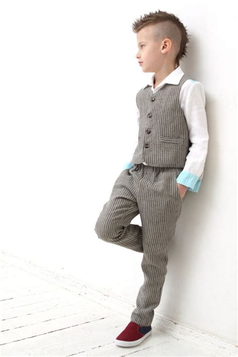 Wedding Attire For Toddlers by Ring Bearer Wedding Toddler Boy Linen Vest