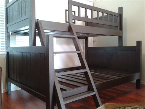 pottery barn loft bed custom bunk bed pottery barn style by treasure valley