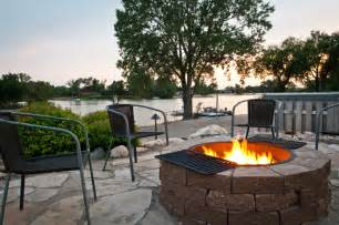 stupefying outdoor gas pit decorating ideas