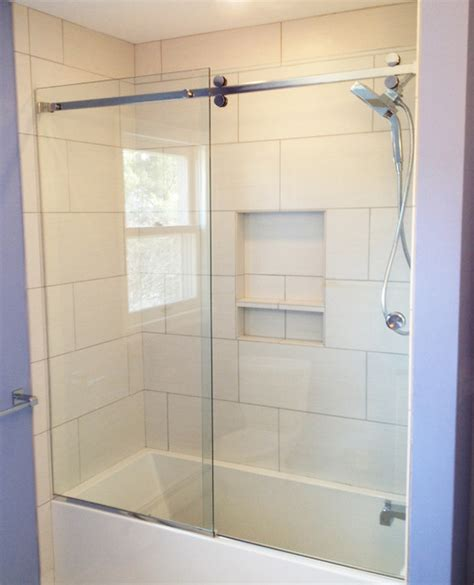 Serenity Sliding shower door   Contemporary   Other   by Ford Metro Inc