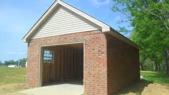 Brick Garages Designs here s a detached three car garage with a brick driveway