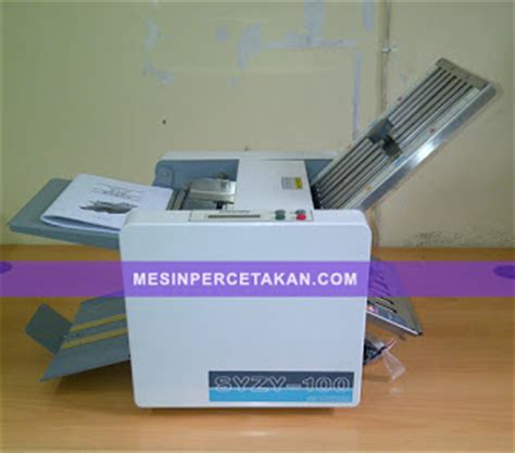 Mesin Potong Kertas Kecil mesin lipat kertas kecil portable mesin cetak