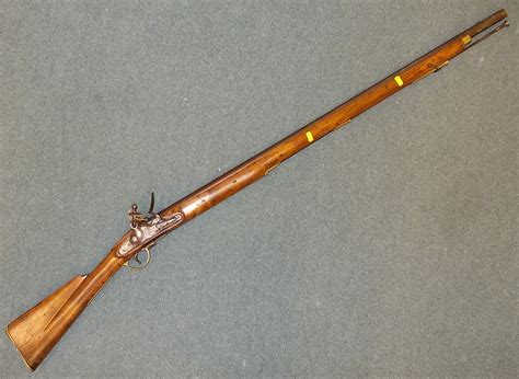Moofeat Dominic Brown Original 39 44 brown bess musket of 9 bore 39 in barrel the lock marked tower with gr cypher in condit