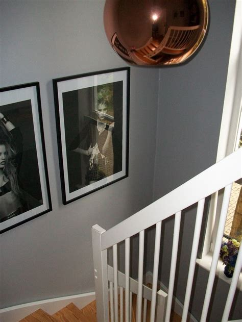 tom dixon copper light chic shadow dulux gray paint chanel posters hallway paint shades of