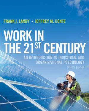 Paket Ebook Applied Psychology 3 work in the 21st century an introduction to industrial