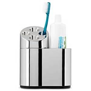 Simplehuman oval toothbrush holder