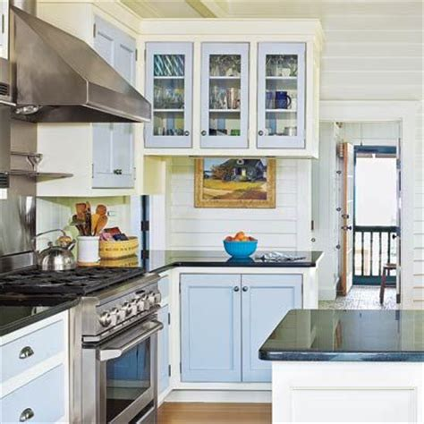 Dual Tone Kitchen Cabinets 26 Low Cost High Style Kitchen Upgrades Two Tones Two Tone Cabinets And Cabinets