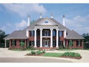 southern homes plans southern colonial style house plans federal style house