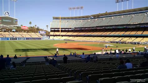 what is section 35 dodger stadium section 35 rateyourseats com