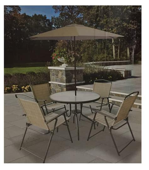comedor jardin comedor jardin terraza patio mesa 4 sillas y sombrilla