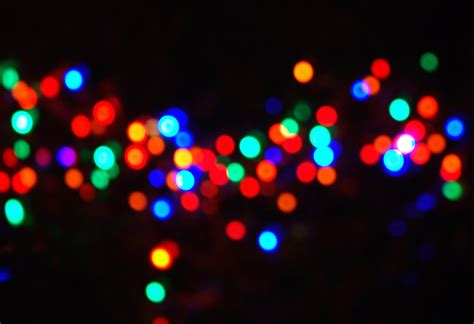 christmas light bokeh christmas decorating