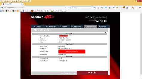 Wifi Smartfren Andromax M2p cara cek kuota modem wifi smartfren andromax m2p vebry exa p