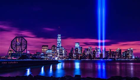 Tribute In Light Timelaspe Youtube