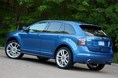 2009 ford edge sport review 2009 ford edge sport photo gallery autoblog