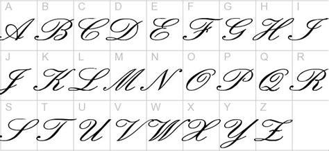 english cursive fonts