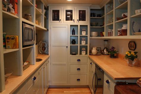 House Plans With Butlers Pantry Custom Walk In Pantry Traditional Kitchen Portland