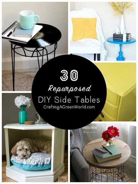 side table ideas 30 diy side table ideas reduce reuse redecorate