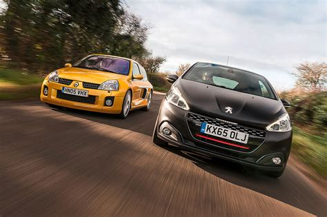 renault peugeot icon buyer new peugeot 208 gti vs used renault clio v6 by