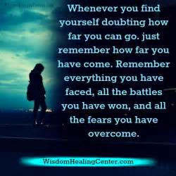 How Can You Find Whenever You Find Yourself Doubting How Far You Can Go Wisdom Healing Center