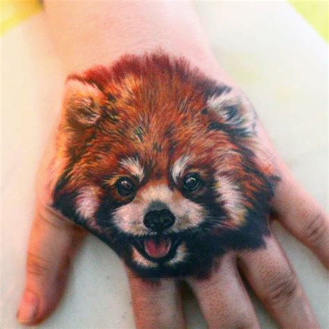 red panda tattoo tribal panda www pixshark images
