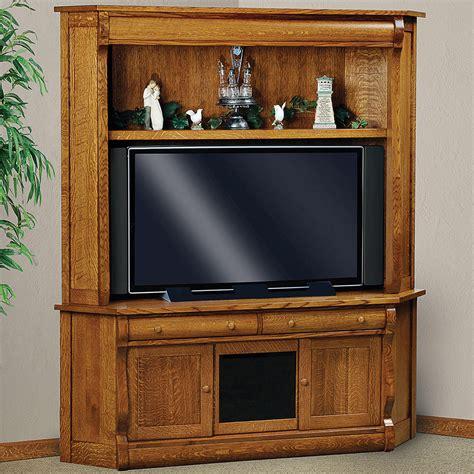 corner cabinet tv stand hutch amish media stand olde sleigh corner tv cabinet