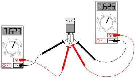 transistor npn medir medi 199 195 o de transistores utilizando o mult 205 metro digital para medir testar e identificar os