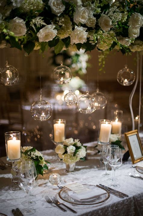 wedding trend decorating  glass globes spheres