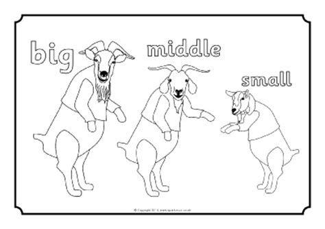 Three Billy Goats Gruff Colouring Sheets Sb10897 Three Billy Goats Gruff Coloring Page