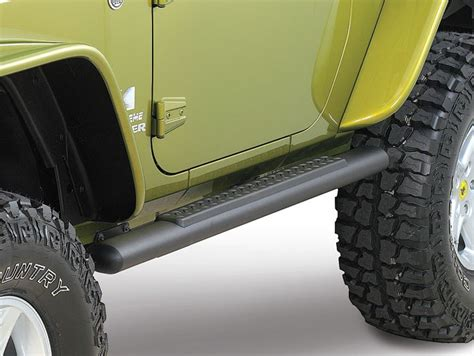 jeep side step mopar 82210561ab mopar 174 tubular side steps in satin