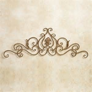 Metal Scroll Wall Decor by Scollastica Scroll Indoor Outdoor Metal Wall Topper
