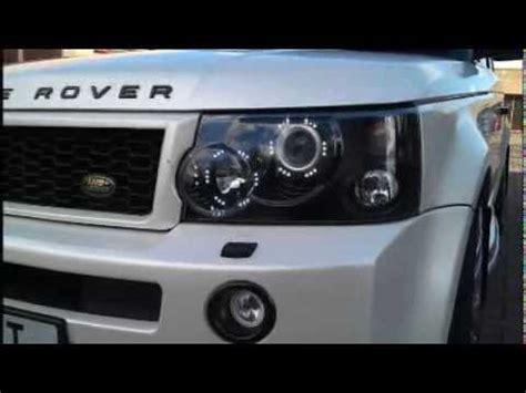 range rover sport headlight upgrade range rover sport drl headlight conversions 2005 2009
