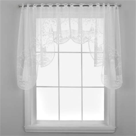 Lighthouse Window Curtains Buy Heritage Lace 174 Lighthouse Shower Curtain From Bed Bath Beyond