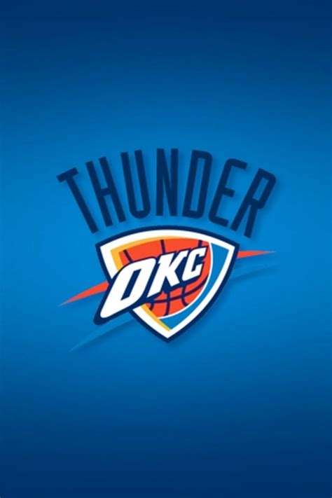 Okc Wallpaper For Iphone 5 | oklahoma city thunder iphone wallpaper hd