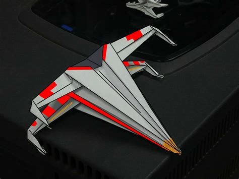 X Wing Origami - origami rogue squadron x wing by nintendraw on deviantart