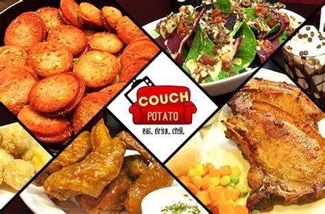 food couch 45 off couch potato s food drinks promo