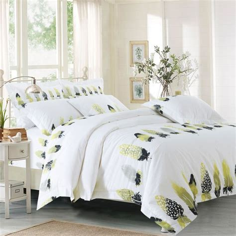 king size feather comforter feather duvet cover bedspread bedding set white hotel king