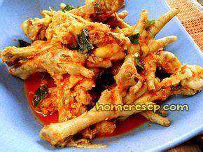resep seblak ceker campur tulang ayam resep masakan
