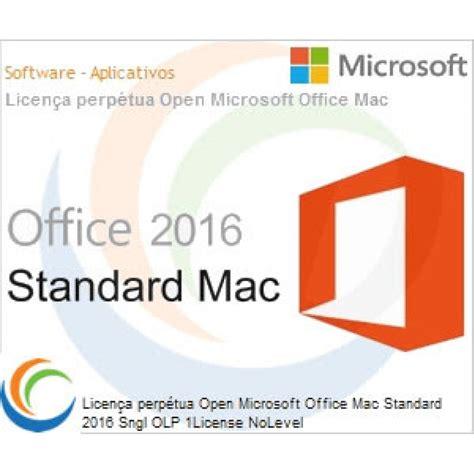 Microsoft Office Standard Olp software aplicativos