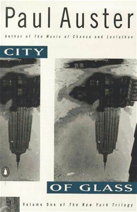 city  glass   york trilogy   paul auster