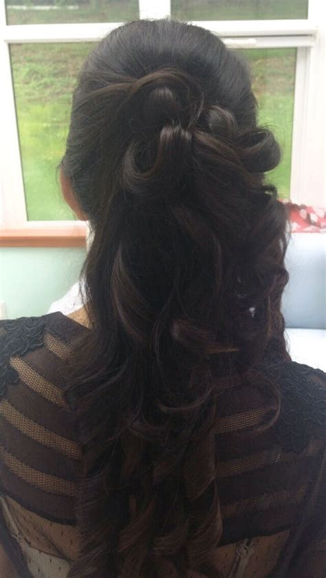 special occasion hairstyles half up half down 17 best images about half up and half down hairstyles on